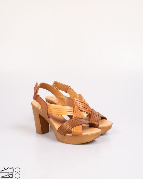 Sandale Marila din piele naturala cu toc 2103601417