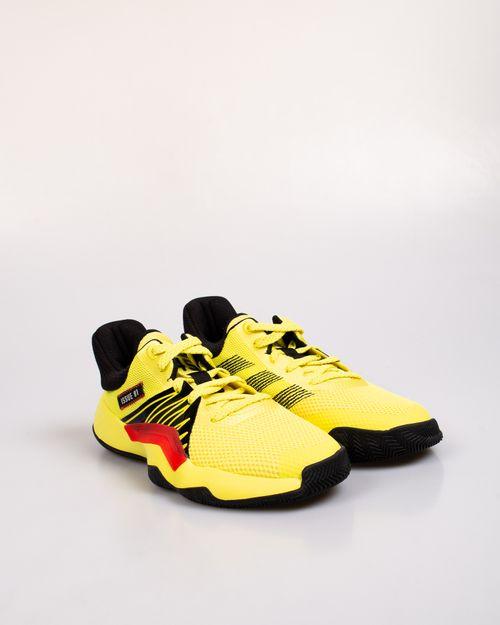 Pantofi sport Adidas cu model perforat si siret 2106408003