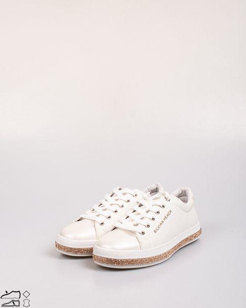 Pantofi Silvian Heach  cu sclipici si detalii aplicate 2103601800