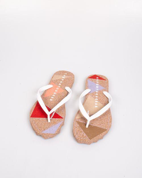 Papuci de plaja  Asportuguesas din amestec de pluta naturala usori si confortabili  2104102010