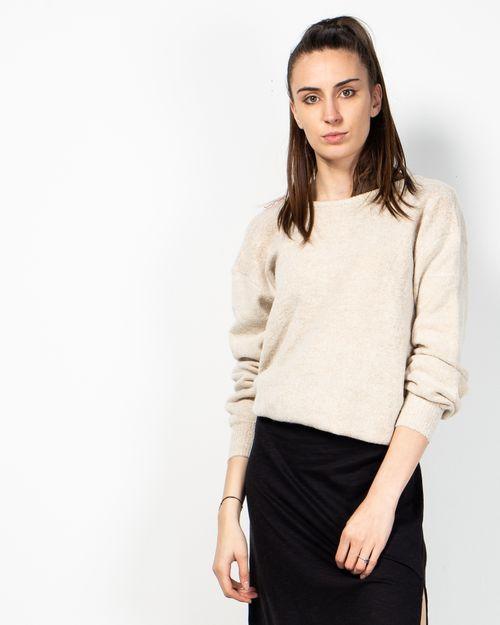 Pulover  NA-KD tricotat fin cu maneca lunga