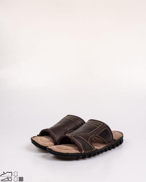 Papuci din piele naturala cu talpa moale N903805003