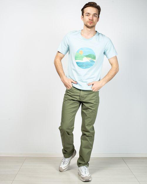 Pantaloni din bumbac cu buzunare 2020901012