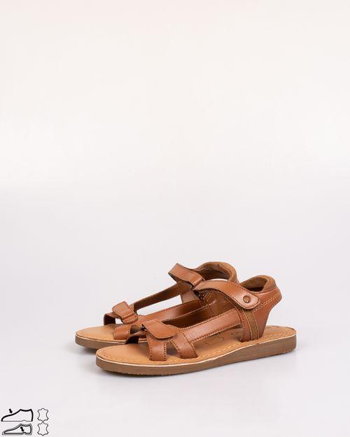 Sandale din piele naturala cu arici N903416001