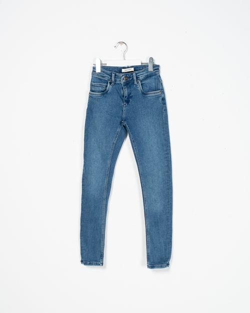 Jeans cu buzunare si fermoar 2104517001