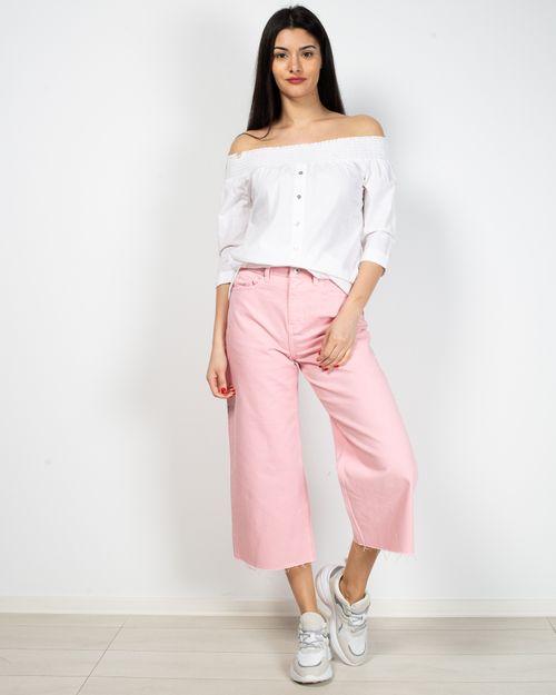 Jeans culotte din bumbac 2017101266