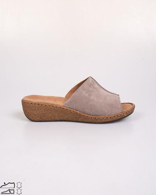 Papuci Adam`s din piele naturala cu talpa ortopedica   2103605225