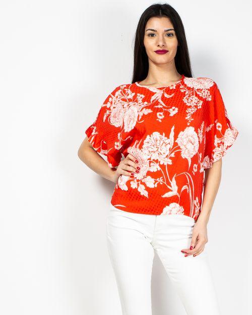 Bluza dama cu imprimeu floral 2017101054