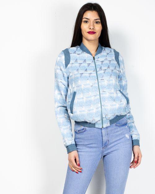 Jacheta cu fermoar metalic si buzunare 2019510014