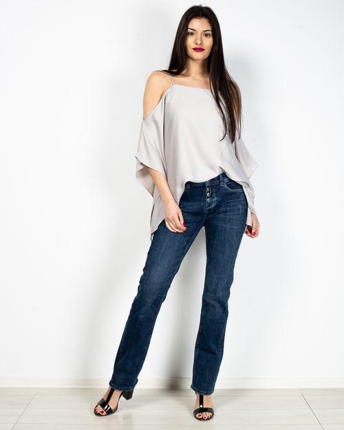 Jeans drepti cu talie joasa 2104501020