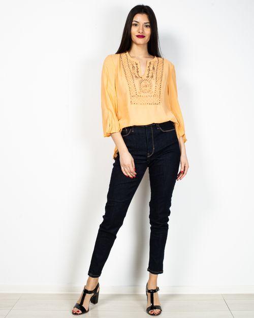 Jeans cu talie inalta 2104501031