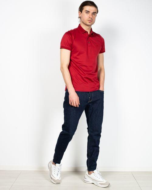 Jeans conici cu nasturi metalici 2104502026