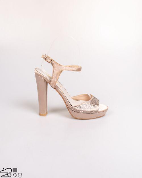 Sandale Adam's cu brant din piele naturala si toc 2103605280