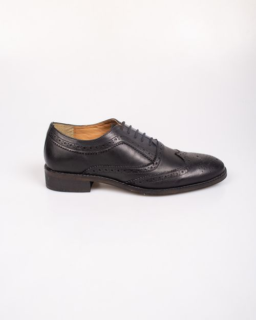 Pantofi din piele naturala cu siret N903939003