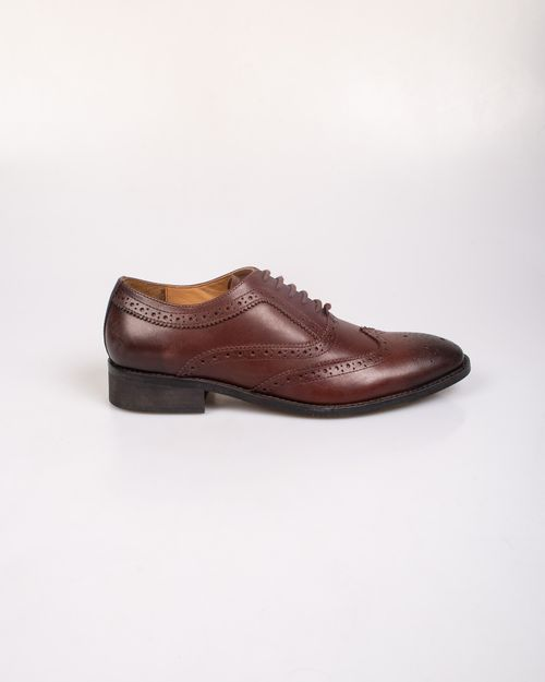 Pantofi din piele naturala cu siret N903939004