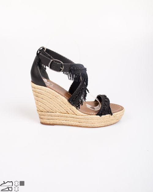 Sandale cu catarama si talpa ortopedica din iuta  N903934013