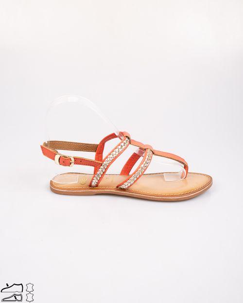 Sandale din piele naturala cu barete subtiri si catarama N903947019