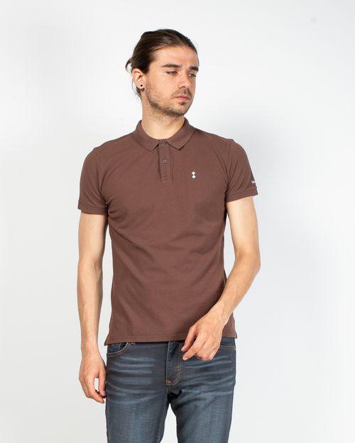 Tricou din bumbac cu nasturi la baza gatului 2100115011