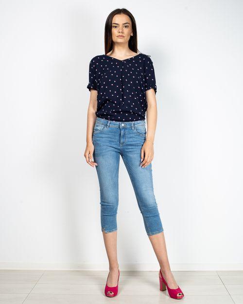 Jeans trei sferturi Esprit din bumbac 2107901407