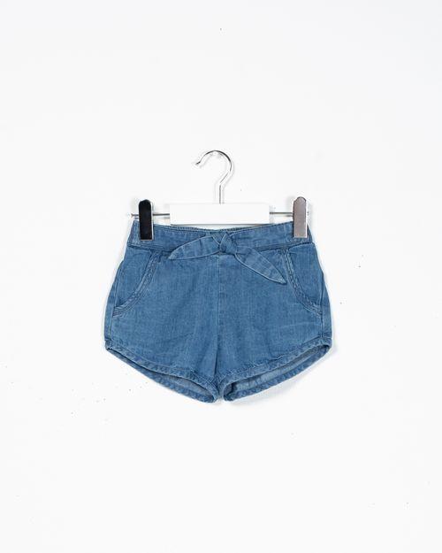 Pantaloni scurti cu elastic in talie si buzunare N902620001