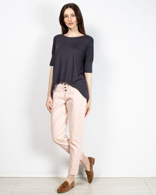 Jeans dama cu nasturi metalici 2110601143