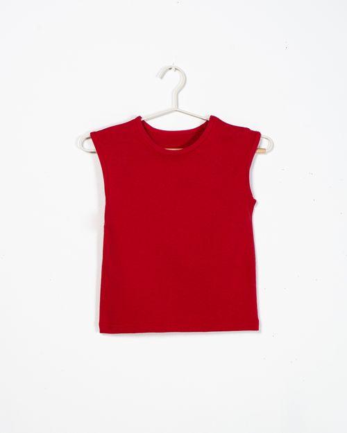 Tricou din bumbac cu guler rotund  2111511002