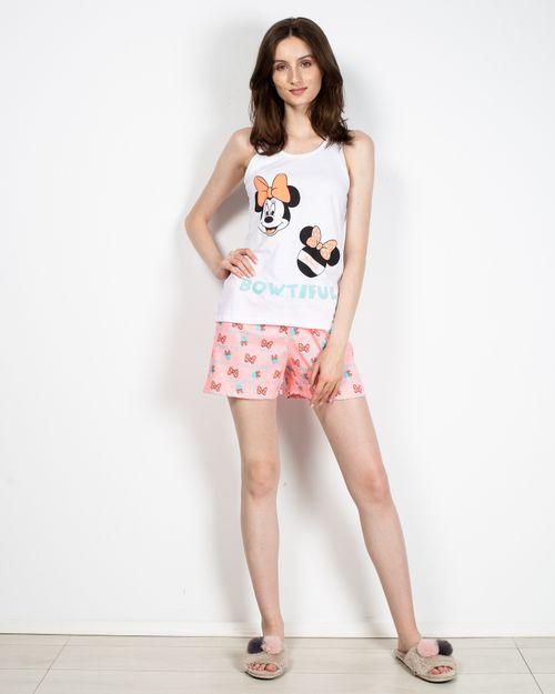 Pijama scurta cu imprimeu  2113002003