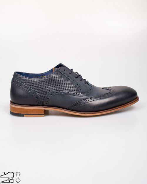 Pantofi din piele naturala cu siret 2113202006
