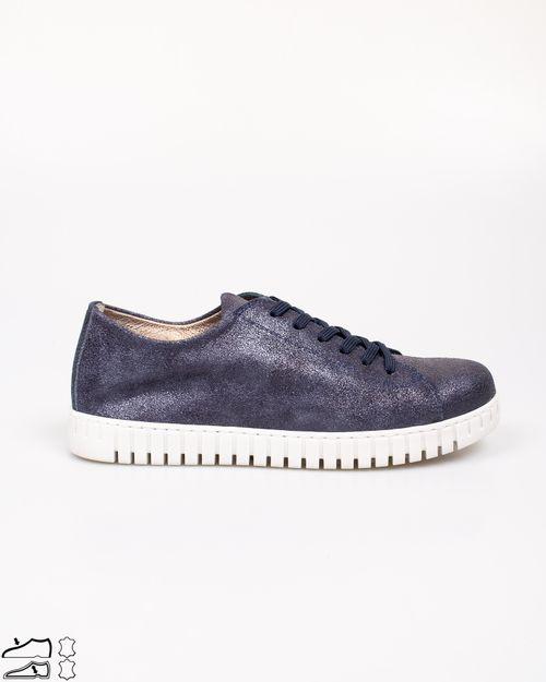 Pantofi din piele naturala cu siret  2113101006