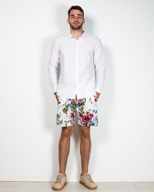 Pantaloni scurti cu imprimeu floral 2115903001