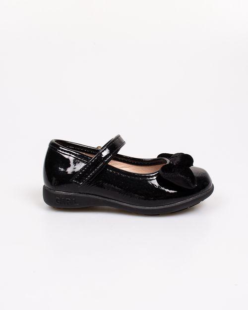 Pantofi Adam`s cu funda aplicata si aspect lacuit 2118101059