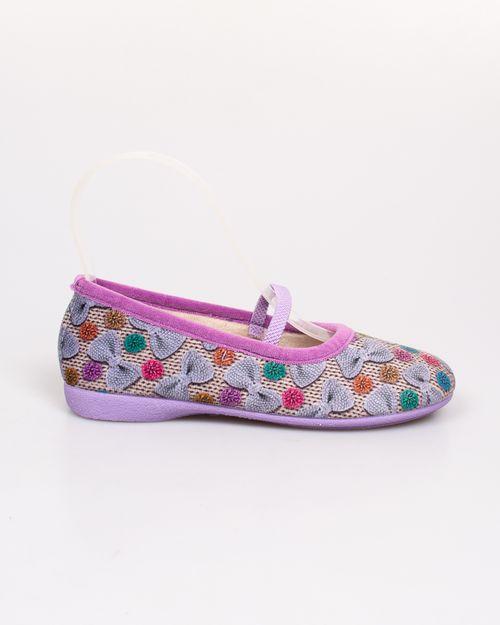 Pantofi de casa Adam's cu imprimeu pentru fete 2118101098