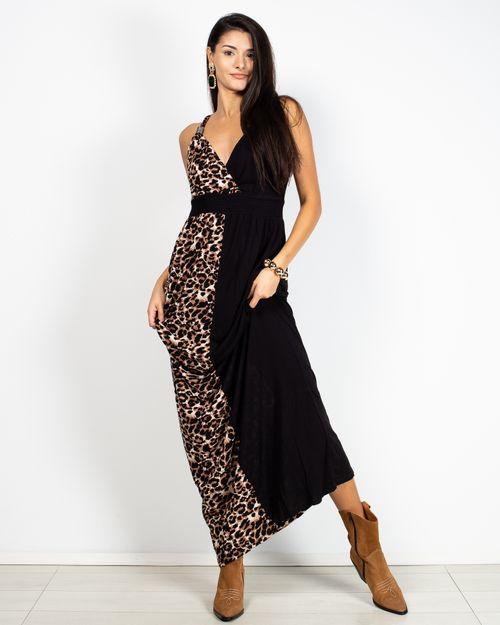 Rochie lunga casual cu imprimeu 2100105017