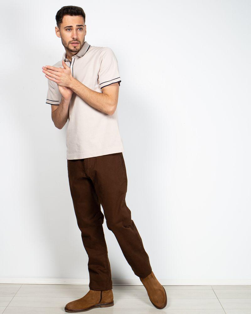 Bluza-din-bumbac-tricotat-cu-maneca-scurta-si-nasturi-la-baza-gatului-2110801002