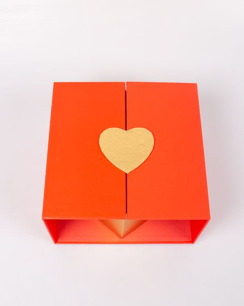 Cutie de cadou rosie din carton M3576902039