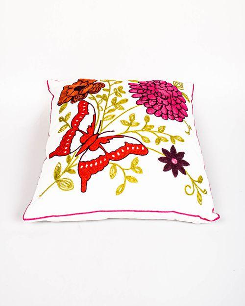 Perna decorativa cu floare roz
