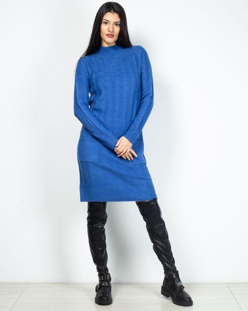 Rochie tricotata cu buzunare