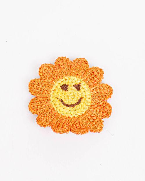 Clama floare portocalie
