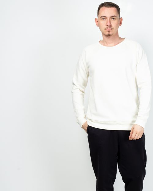 Bluza din amestec de bumbac organic cu maneca lunga 2100433001