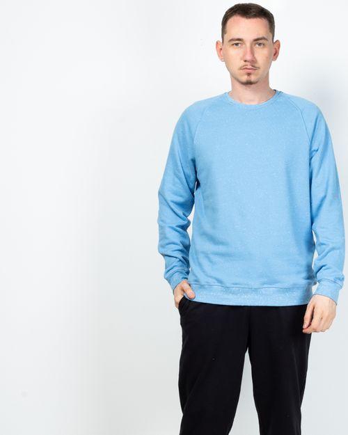 Bluza din amestec de bumbac organic cu maneca lunga 2100431001