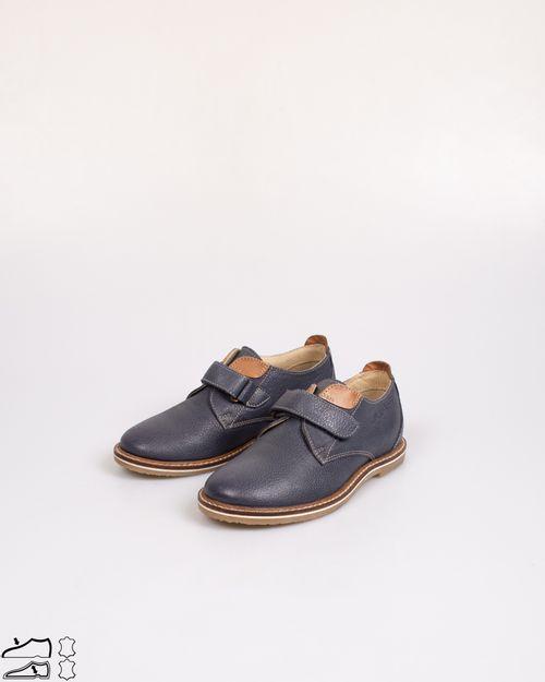 Pantofi din piele naturala cu banda velcro pentru copii N903103002