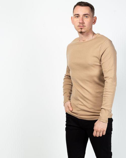 Bluza din bumbac cu maneca lunga 2017102152