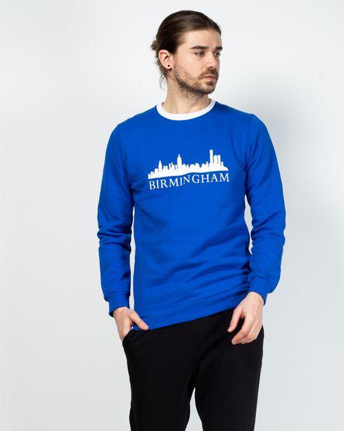 Bluza din bumbac cu imprimeu 2100117004