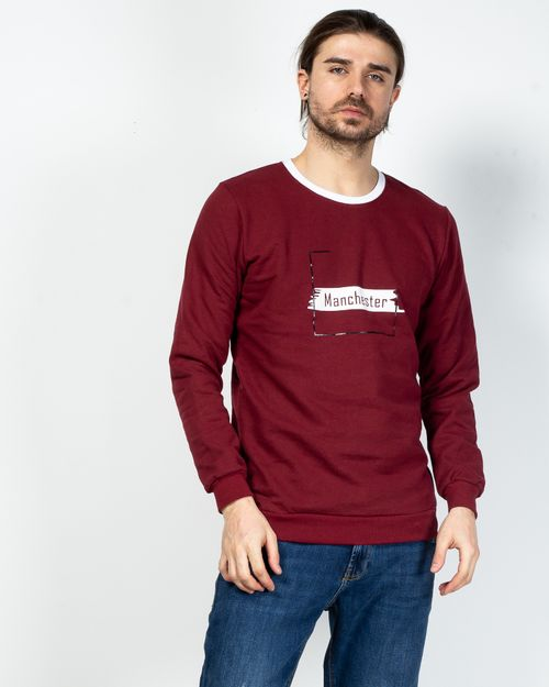 Bluza din bumbac cu maneca lunga 2100165001