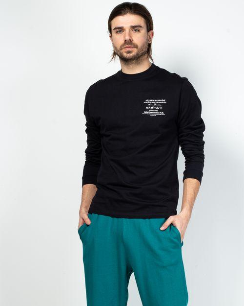 Bluza din bumbac cu imprimeu 2101203002