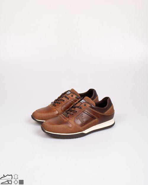 Pantofi barbatesti din piele naturala cu siret  2103004006
