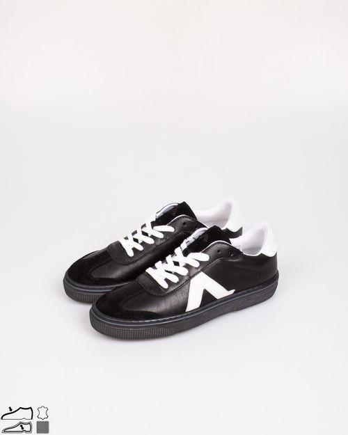 Pantofi din piele naturala cu siret pentru copii 2103301007