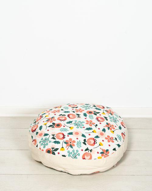 Perna de podea cu imprimeu floral