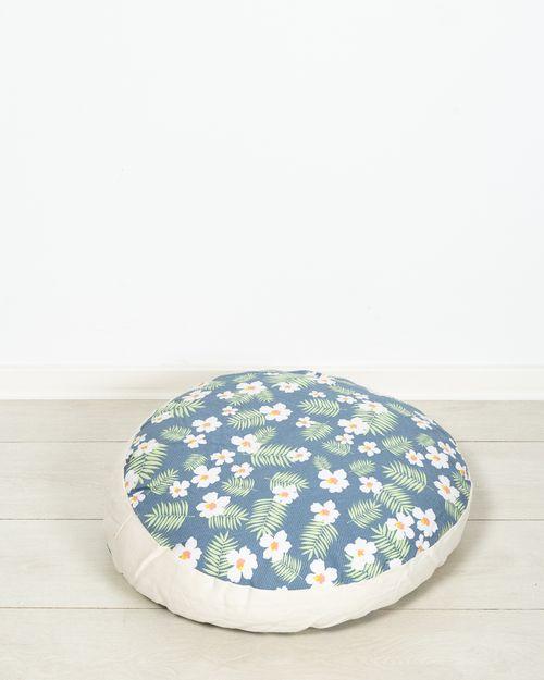 Perna cu imprimeu floral de podea