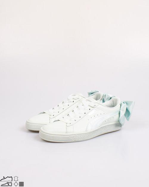 Pantofi dama Puma din piele naturala cu funda  2102101162